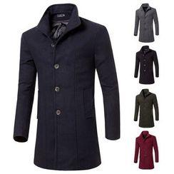 FORSETI - Plain Long Coat