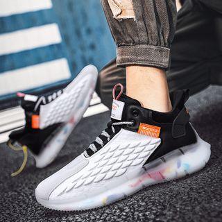 Signore - Platform High-Top Sneakers
