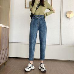 Shawshanna - Cropped Harem Jeans
