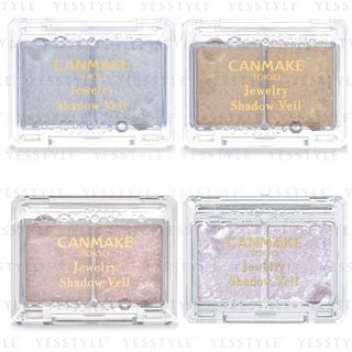 Canmake - Jewelry Shadow Veil - 4 Types