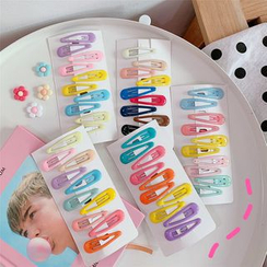 Tuhat - Set: Plastic Snap Hair Clips