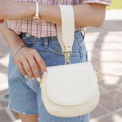 CLICK - Stitched Flap Crossbody Bag