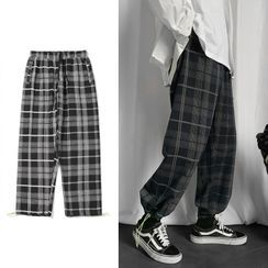 EOW - Plaid Jogger Pants