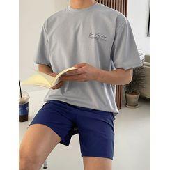JOGUNSHOP - 'Los Angeles' Letter T-Shirt