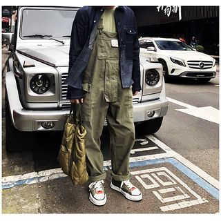DuckleBeam(ダックルビーム) - Cargo Jumper Pants