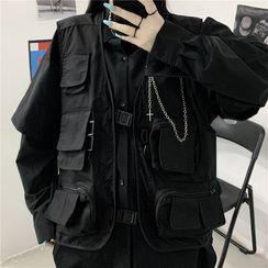 Malnia Home - Couple Matching Cargo Vest