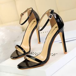 PRIN - High Heel Ankle Strap Sandals