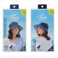 COGIT - Round & Round UV Denim Visor - 2 Types