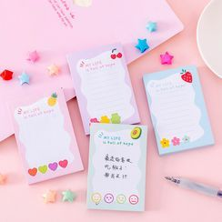 Dukson - Fruit Print Sticky Note