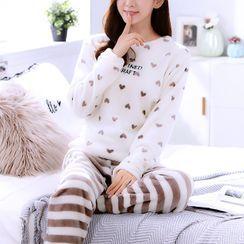 Voomer - Heart Pajama Set