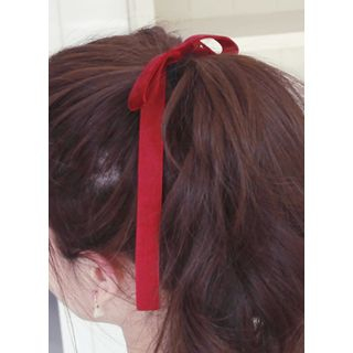 kitsch island - Bow Velvet Hair Tie