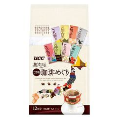 UCC - Travel Café Tour Drip Ground Coffee (Pack of 12)