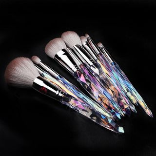 Alays - Set of 9: Diamond Cut Handle Makeup Brush