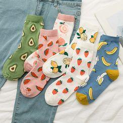 MOGLA - Printed Crew Socks