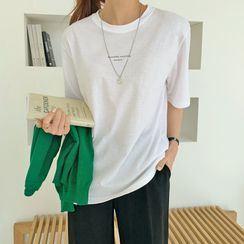 Envy Look - Letter Print T-Shirt