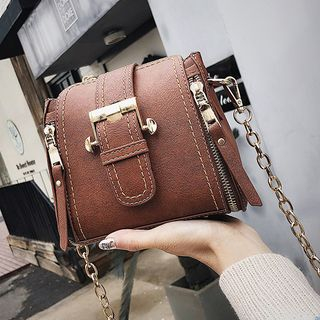 Montomery - Faux Leather Satchel