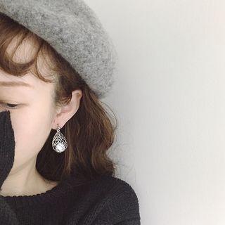 PANGU - Rhinestone Statement Earrings