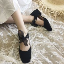 miss baby - Block Heel  Mary Jane Pumps