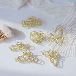 Magzo - Matte Alloy Hair Clamp (various designs)