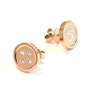 Kamsmak - Button Earrings