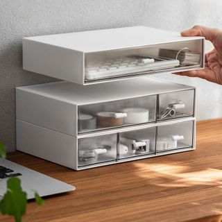懒角落 - 抽屉式桌面收纳盒