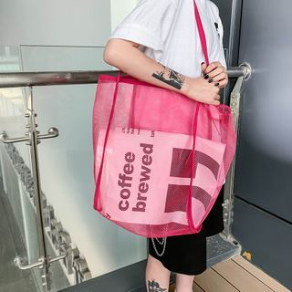 Mulgam - Fishnet Tote Bag