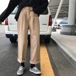 Obbligato - Crop Wide Leg Jeans