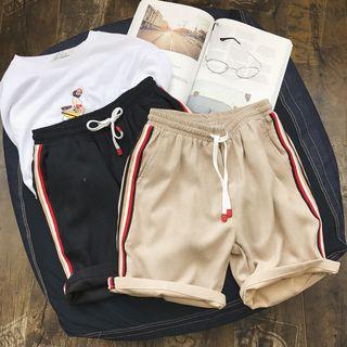 Skeggi - Contrast Trim Jogging Shorts