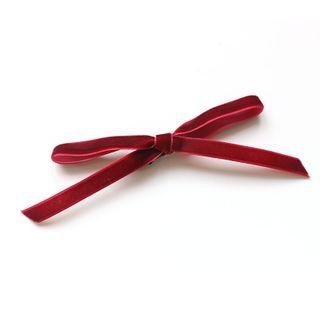 SUGAR STUDIO  - Ribbon Bow Hair Tie / Hair Clip