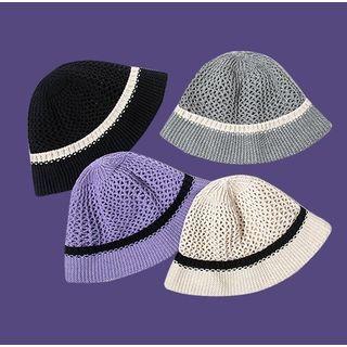 Hat Society - Knit Bucket Hat