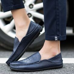 Viffara - Faux Leather Loafers