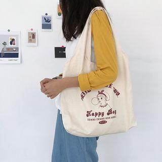TangTangBags - 印花帆布单肩包