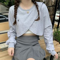 Cloud Nine - 裹式短款衛衣