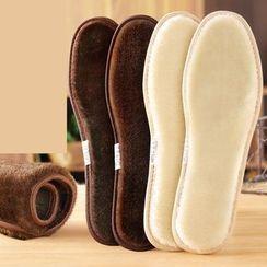 KEZUJIA - 毛呢木炭鞋墊