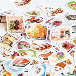 Milena - Food Print Sticker (various designs)