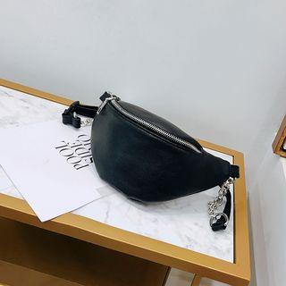 BAGSHOW(バッグショウ) - フェイクレザーベルトバッグ