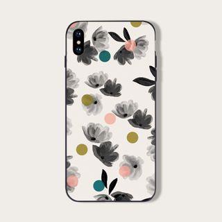 Midnight Lotus - Floral Print  Mobile Case - iPhone 11 Pro Max / 11 Pro / 11 / XS Max / XS / XR / X / 8 / 8 Plus / 7 / 7 Plus / 6s / 6s Plus