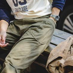 Maden - 纯色直筒裤