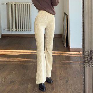 Sosana - Corduroy Boot-Cut Pants
