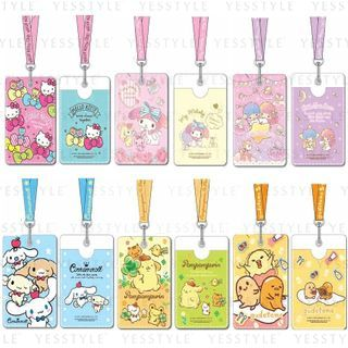 Sanrio - Card Holder With Neck Strap 2020 Edition - 11 Types