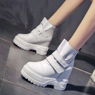 Sleeko - 內增高厚底短靴