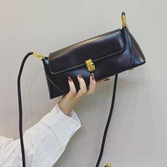 Mercillia - Plain Flap Crossbody Bag