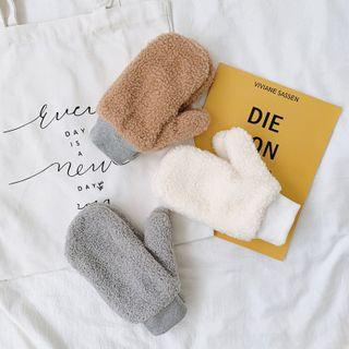 EIGA - Faux Shearling Gloves