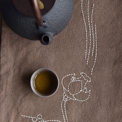 Embroidery Kingdom - Tea Table Cloth DIY Embroidery Kit