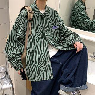 CooLook - Zebra Print Shirt