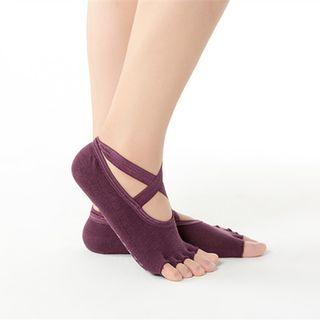 AUM - 半趾/全趾运动防滑袜子