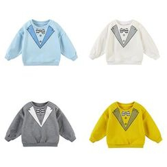 MOM Kiss - Kids Printed Pullover