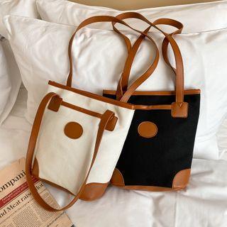 mizandrus - Canvas Zip Bucket Bag