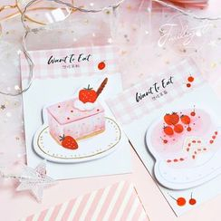 Homey House - Strawberry Dessert Sticky Note (various designs)