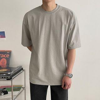 Seoul Homme - Crew-Neck Cotton T-Shirt